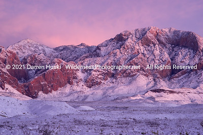 Winter Twilight in the Chisos