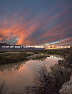 Rio Grande Winter Sunset