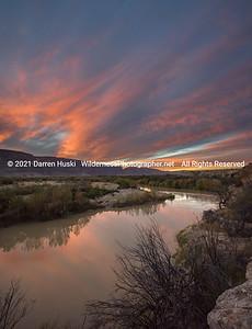 Rio Grande Winter Sunset