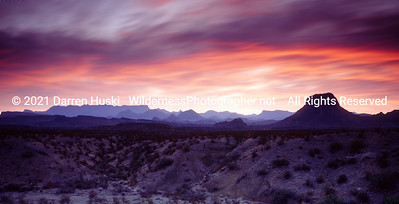 Chisos Sunrise