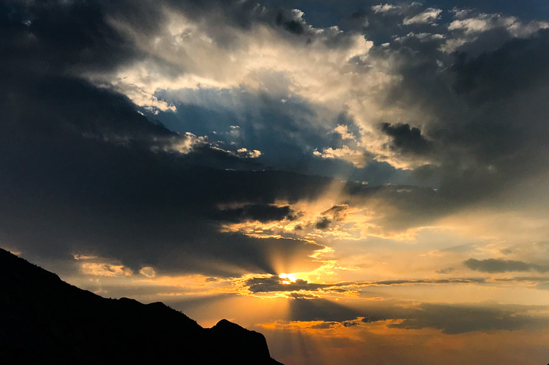 Chisos Mountains Sunset