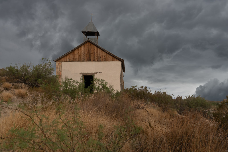 Church in Terlingua Ghost Town