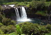 "Pe'epe'e Falls (pronounced Pay-a Pay-a) - down river from the Waiale Falls - along the Wailuku River, which is 18 mi. (29 km) long, making it the longest river in the Hawaiian archipelago - Wailuku, which means ""water of destruction"" - Hilo district"