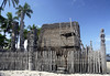 Hale o Keawe (a mausoleum that housed the bones of 23 Ali'i (chiefs) - the bones were thought to contain mana (supernatural powers) - surrounded by Ki'i (wooden humanoid god statues) - Pu'uhonua (Place of Refuge) - Kona district