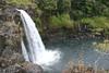 Pe'epe'e Falls - along the Wailuku River - Hilo district