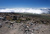 Above the cloud level on Mauna Kea - Hamakua district