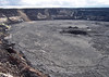 Halema'uma'u Crater - it measures > 2,600 ft. (792 m) wide - in 1924, it was only 1,500 ft. (457 m) in diameter - Hawaii Volcanoes National Park