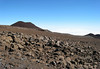 Cinder cones along the slope of Mauna Kea Volcano - Hamakua district