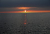 Kohala sunset - northwest island