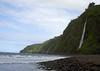 Kaluahine and Waiulili Falls - just past the southeastern end of Waipi'o Beach - Kohala district