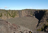 Puhimau Crater (ever smoking) - a pit crater located on the Upper East Rift, formed by the collapse of the ground above a magma channel - Hawaii Volcanoes National Park - Kau district