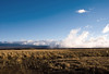 Viewing across the saddle between Mauna Kea and Mauna Loa (beyond the clouds) - Hamakua district