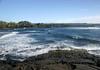 Punalu'u Bay and Beach (also called Black Sand Beach) - Kaʻū district