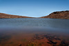 Lake Waiau - lies in the crater of Pu'u Waiau cinder cone on Mauna Kea Volcano at an elevation of 13,025 ft. (3,970 m) above sea level - Hamakua district
