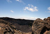 Into the Mauna Ulu Crater - 600 ft. (183 m) across and 400 ft. (122 m) deep - Hawaii Volcanoes National Park