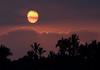 Puna district sunset - above the cumulus cloud