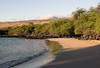 Mau'umae Beach (pronounced MOW My) - up the southwestern flank of the Kohala Volcano, just south of Kawaihae (a port village) - Kohala district