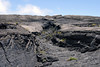 Lava channel on the northern flank of Mauna Ulu Shield - Hawaii Volcanoes National Park