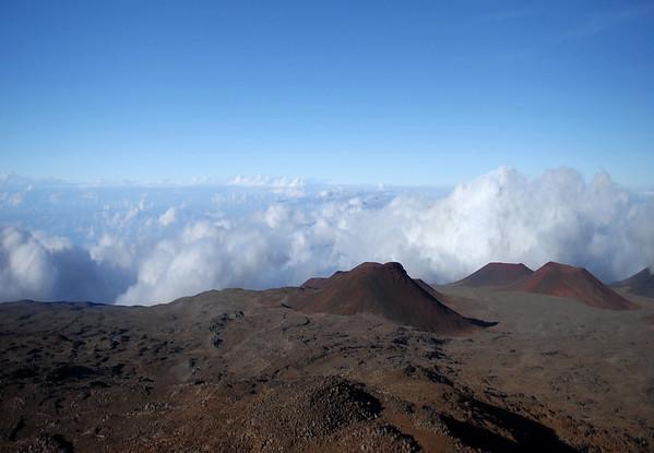 Cinder cones of Mauna Kea Volcano - Hamakua district