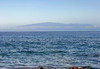 From Upolu Point, the northern most land point on the island, Kohala district - across the Alenuihaha Channel, about 35 mi. (56 m) wide, and up to about 6000 ft. (1,829 m) deep) - to Maui (island) and its highest peak atop the Haleakala Volcano