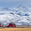 Red Barn & Farm in Montana