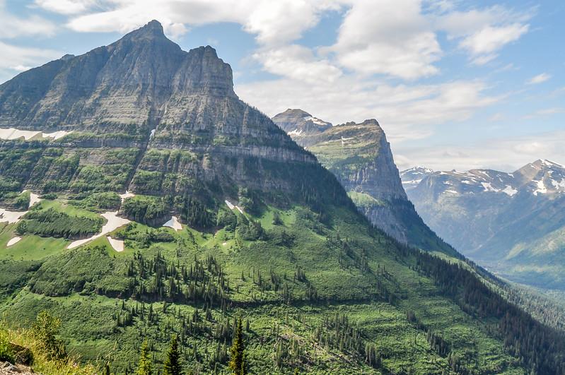 High Rocky Mountain Peak