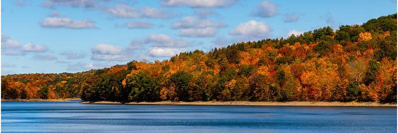 Fall Colors at Beaver Run Reservoir