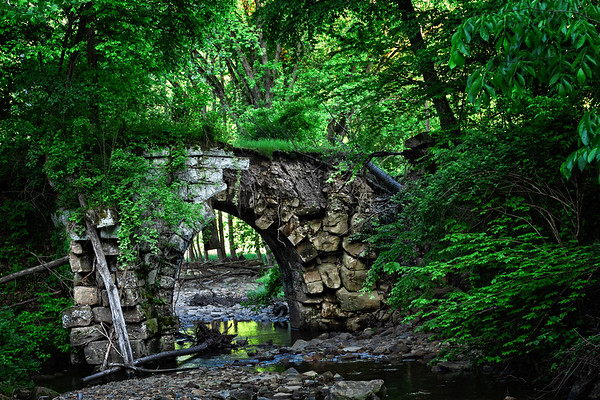 Rockland Station Bridge Ruins