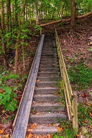 Bow Ridge Stairway.