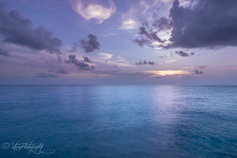 Sunset Blues - Bimini, Bahamas, 2018