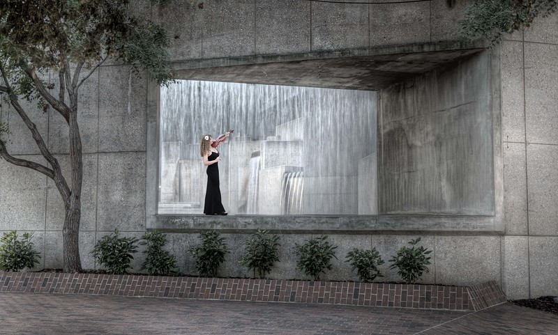 Art Museum Fountain