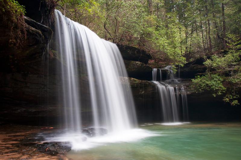 Caney Creek Falls