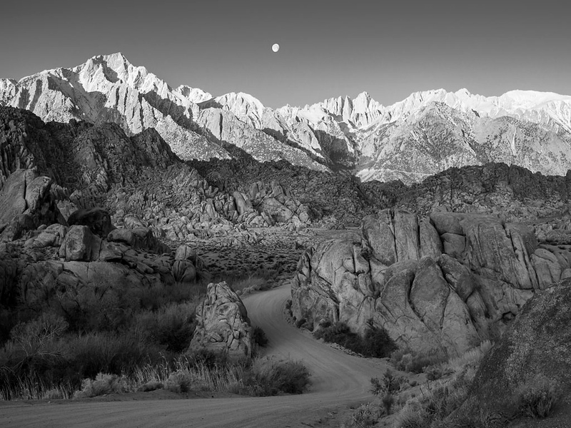 Mt. Whitney from Alabama Hills, Lone Pine, CA