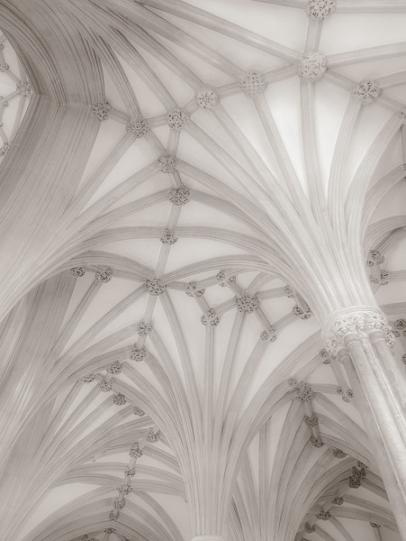 Ceiling, Wells Cathedral, England