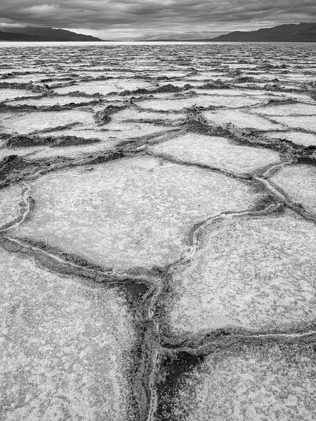 Salt flats, Badwater Basin, Death Valley NP, California