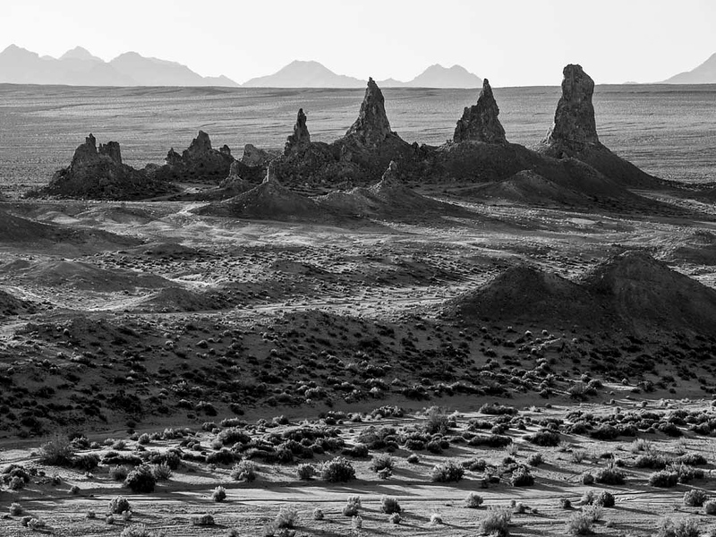 Trona Pinnacles, California
