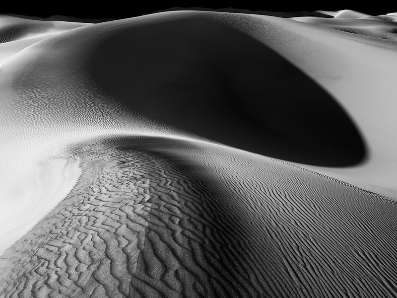 Mesquite Dunes #1, Death Valley