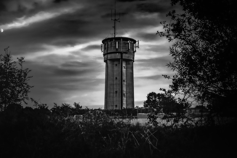 Rosudgeon Water Tower, Penzance, Cornwall 2018