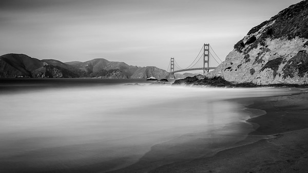 Golden Gate Bridge - Bakers Beach