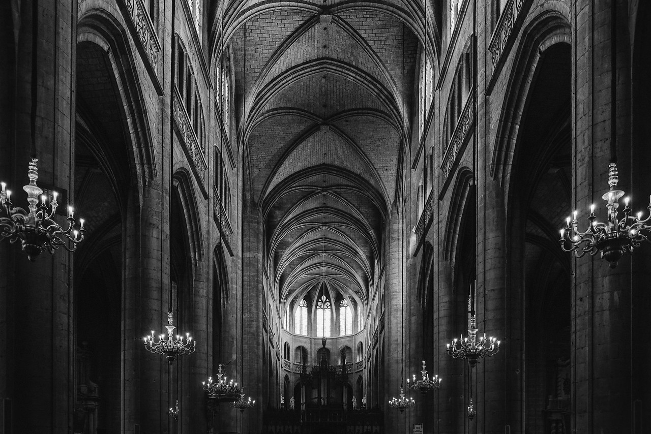 Auch Cathedral, France