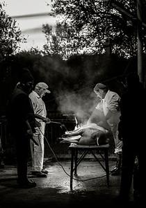 Pig slaughter