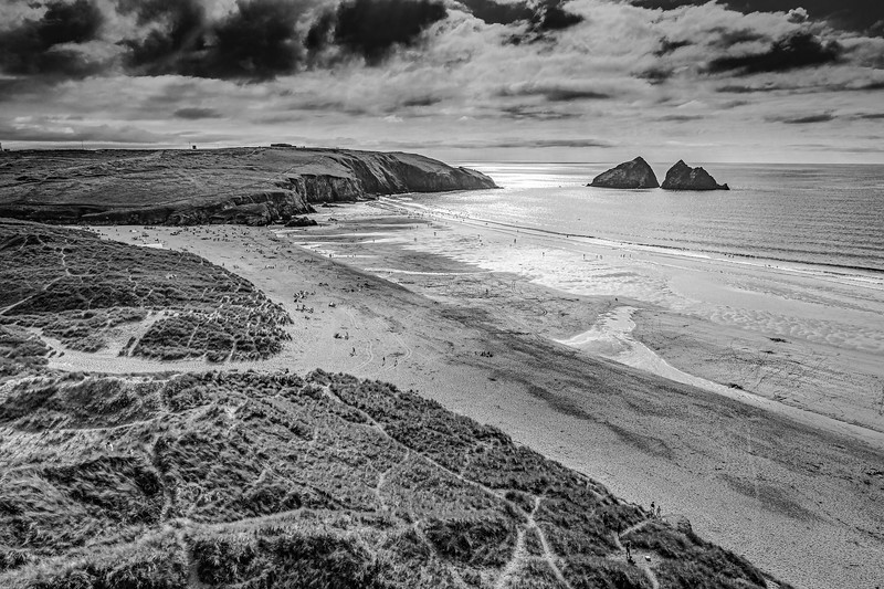 Hollywell Bay, Cornwall 2018