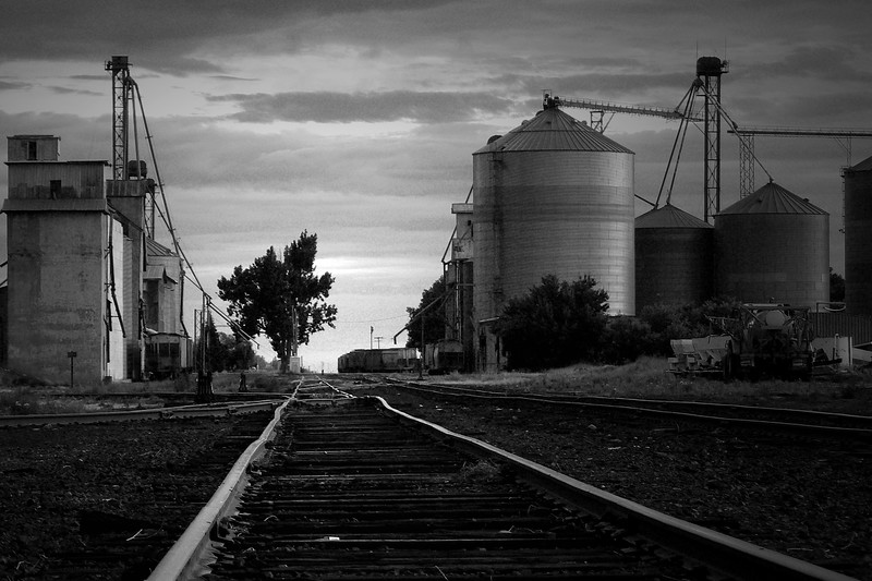 The end of the Union Pacific line in Eastern Idaho.<br /> Ashton, Idaho