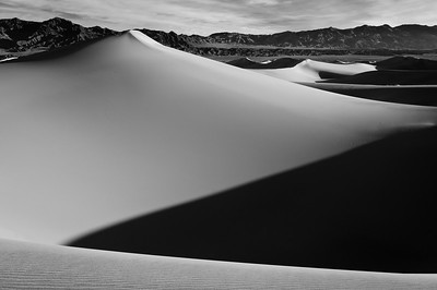 """Monochrome Dunes"" - Death Valley National Park, CA"