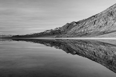 The Clear Mirror (Black & White)
