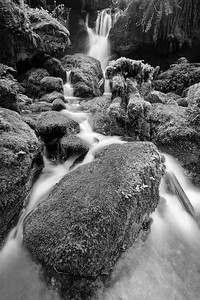 Fairy Falls (Black & White)