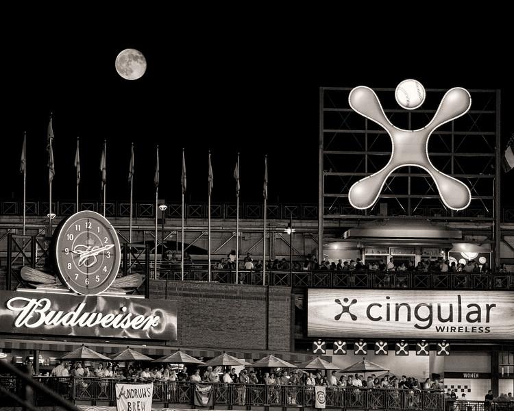 Turner Field at Night