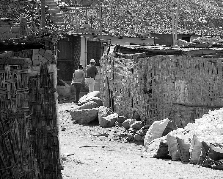 Dana and Amanda Streets of Huanca, Peru