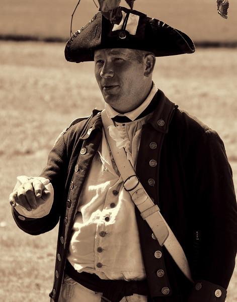 American Village United States Revolutionary War Soldier
