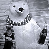 Josh with Coca-Cola Bear